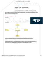 Data Flow Diagram With Examples - Food Ordering System