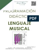 Programaciýn Didýctica LeHHHHnguaje Musical 2014-15