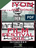 Tryon International Film Festival 2016