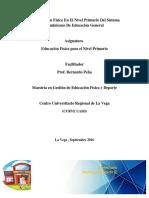 La Educación Física en el nivel Primario del Sistema Dominicano de Educación General
