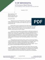 2016 09 23 GMD Letter to Speaker Daudt
