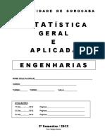 Apostila de Estatistica Geral e Aplicada