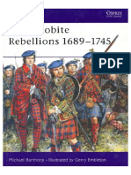 Osprey - Men at Arms 118 Jacobite Rebellions 1689 - 1745 Osprey MaA 118