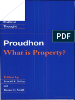 (Cambridge Texts in the History of Political Thought) Pierre-Joseph Proudhon, Donald R. Kelley, Bonnie G. Smith-What is Property -Cambridge University Press (1994)