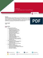 F5 TRG BIG IP ASM ESS Configuring BIG IP ASM Application Security Manager