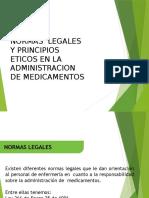 Trabajo exposicion  normas legales y principios eticos