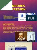 Sensores de Presión, Instrumentacion.