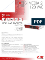 CET Power - MEDIA 2i Datasheet - V1.0