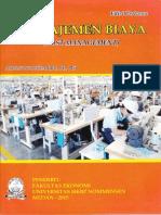 Buku Manajemen Biaya