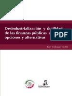 Desindustrialización y frágilidad de las finanzas públicas en el DF