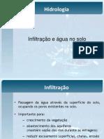 Aula 06 - Infiltração e água no solo.pdf