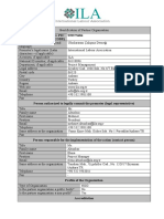 ILA Partner Identification Form