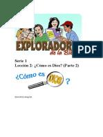 Exploradores de La Biblia 2