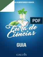 GUIA FEIRA DE CIÊNCIAS GALOIS 2016