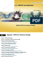 Ansys Hfss Antenna l01 0 Ansys Intro