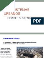 Ecologia Urbana 1
