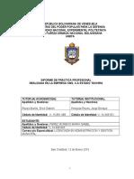 Informe de Pasantías Unefa