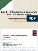 Capitulo 1 - Introdução à Economia