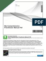 Nlp Comprehensive Practitioner Manual PDF
