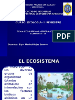Clases de Ecologia -Ecosistemas