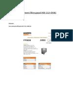 Changement Filtre Gasoil HDI 112 Cv
