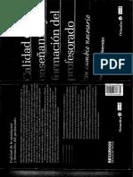 Calidad de La Enseñanza y Formación Del Profesorado (1)