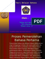 Hubungan kompetensi dan performasi dalam pemerolehan bahasa