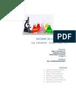 Informe de Laboratorio - Quimica