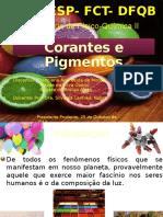 Corantes e Pigmentos