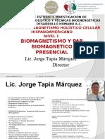 1 Curso Biomagnetismo Brasil 2015