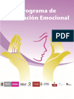Programa de Contención Emocional Grupal e Individual Para El Personal Que Da Atención Directa