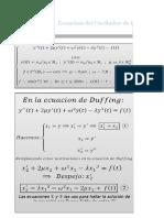 Ecuacion-Oscilador de Duffing-Runge Kutta Orden 4-Analisis Numerico y Comutacional