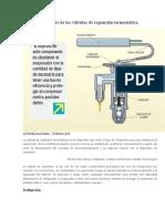 Aplicación y Ajuste de Las Válvulas de Expansión Termostática