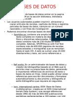2010 - Bases de datos (búsqueda de información)
