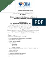 613_Invitación Diseño e Inspección de Sistemas de Alarma de Incendio y Seguridad Electrónica