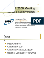 08RA3 AFNLP2008_Indonesia_report (1).ppt