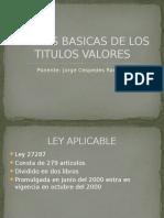 Csjha n Capacitacion Reglas Basicas Titulos Valores 07082012