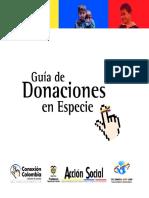 Manual Donaciones