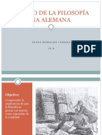 El Inicio de La Filosofía Moderna Alemana