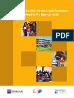 CAPACITACION DE RECURSOS HUMANOS EN SANEAMIENTO BASICO RURAL.pdf