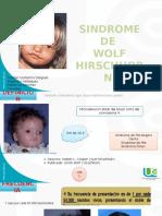 Sindrome de Wolf Hirschhorn Terminado