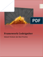 Tutorial Framework Codeigniter