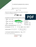 Cómo Se Calcula El Coeficiente Equivalente