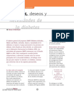 Actitudes Deseos y Necesidades de La Diabetes