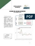 9. Informe Del Sector Automotor a Septiembre 2015