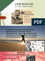 Abraham Maslow y Su Teoria