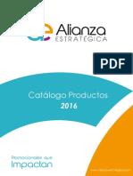 Catálogo Productos 2016 Alianza Estrategica