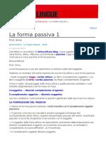 La Forma Passiva 1