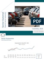Reporte Sector Automotor Abril 2014