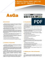 Manual Modem MMO16E1NG Asga